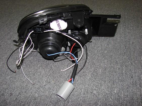 03-05 Neon/SRT4 Depo Projector Style headlight
