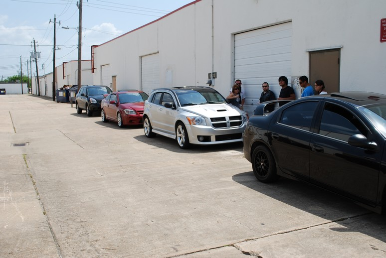 Modern Performance 7-24-2010 Meet with SRT-4's, Neons, Calibers, Cobalts and more