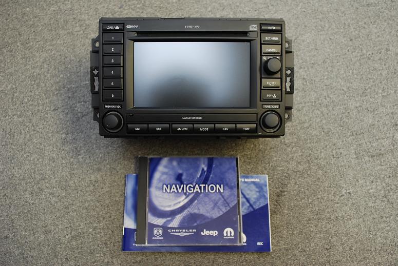 Dodge Caliber SRT4 Navigation Unit
