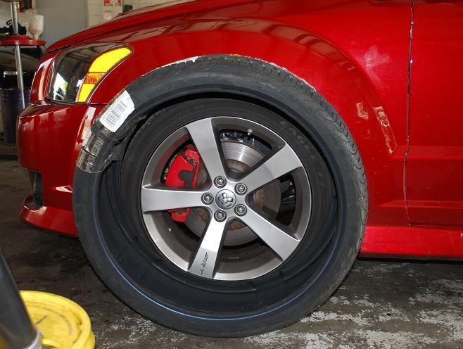 Caliber SRT-4, SRT4, 24 inch wheels