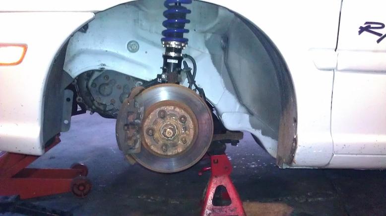 PT Big Brake upgrade for Dodge/Plymouth Neon