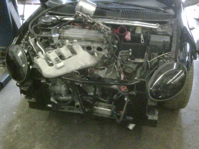Crashed Dodge Neon SRT4 with 50 Trim