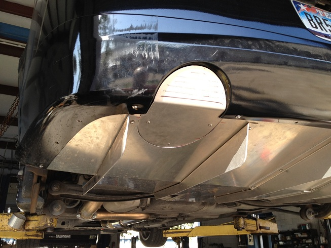 Pics Of Prototype Mpx Diffuser Rear Exhaust Cutout Plugs