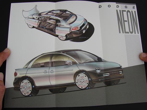 1991 Dodge Neon Concept Brochure