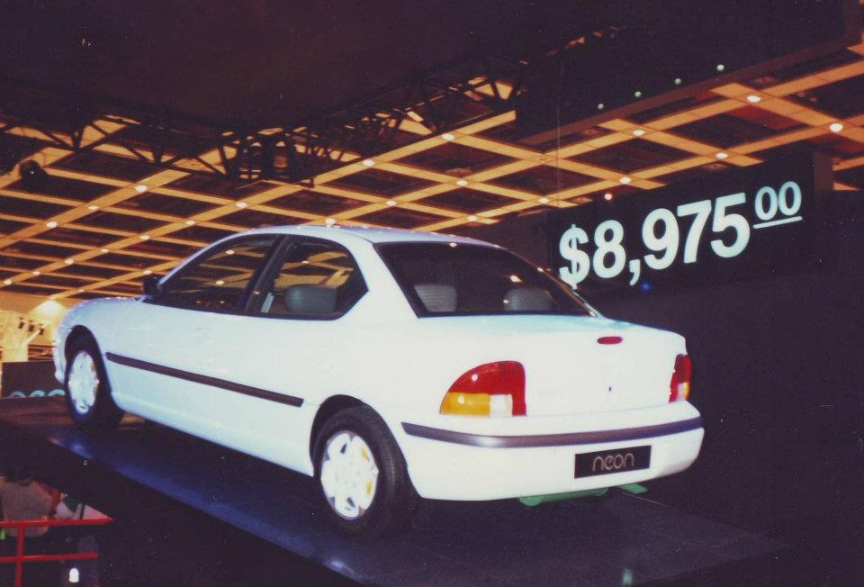 Awesome Photos Of Early 1995 Neons At A Carshow Circa