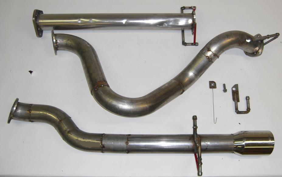 MPx Chevrolet Cobalt SS Turbo prototype exhaust