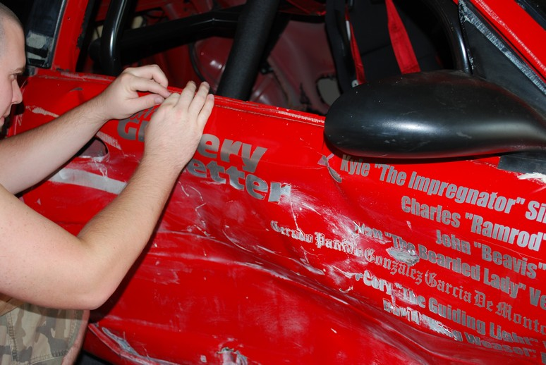 24 hours of Lemons race car - Team Grocery Getter