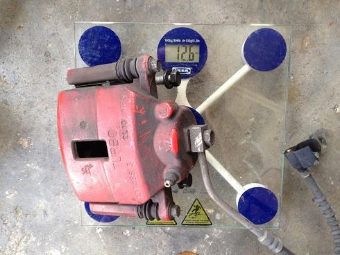 Neon SRT4 oem caliper weight