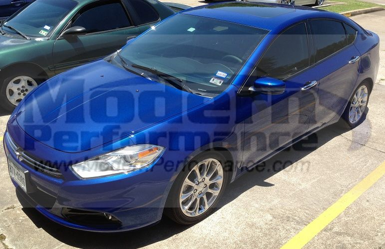 2013+ Dodge Dart with Eibach pro kit lowering springs