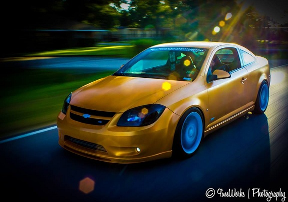 Photo Of A Cobalt Ss In Motion From Alex Upshaw Modern